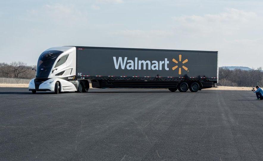 Walmart Advanced Vehicle Experience truck concept - Slide 7