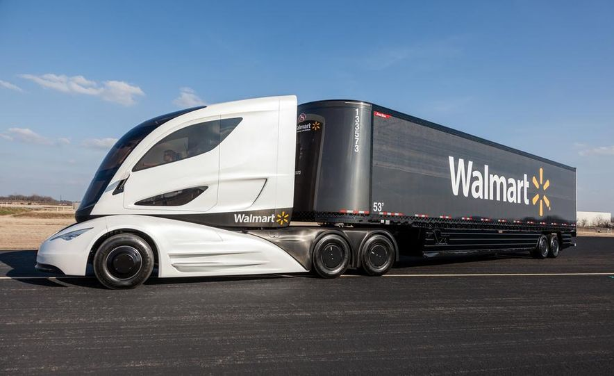 Walmart Advanced Vehicle Experience truck concept - Slide 8