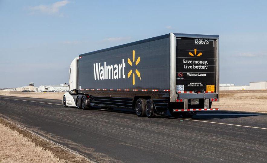 Walmart Advanced Vehicle Experience truck concept - Slide 9