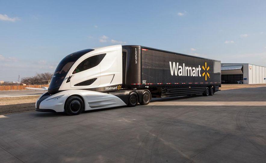 Walmart Advanced Vehicle Experience truck concept - Slide 10