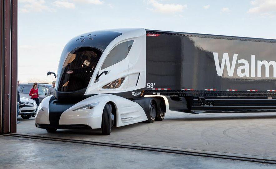 Walmart Advanced Vehicle Experience truck concept - Slide 12