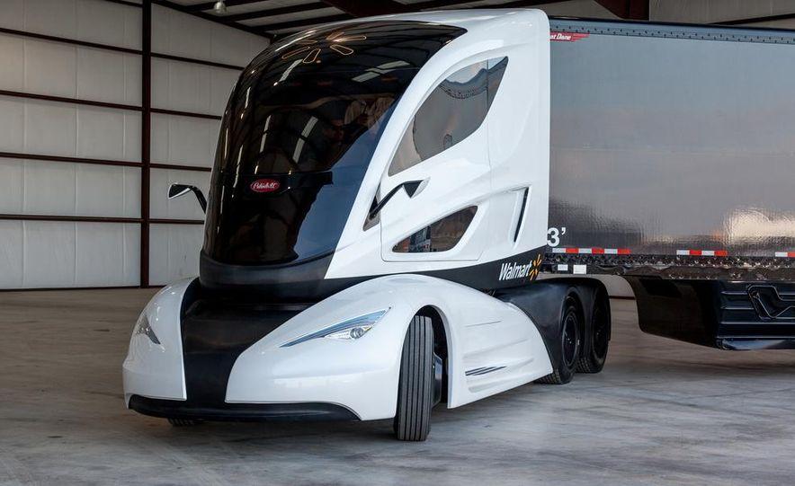 Walmart Advanced Vehicle Experience truck concept - Slide 14