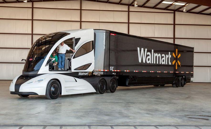 Walmart Advanced Vehicle Experience truck concept - Slide 17
