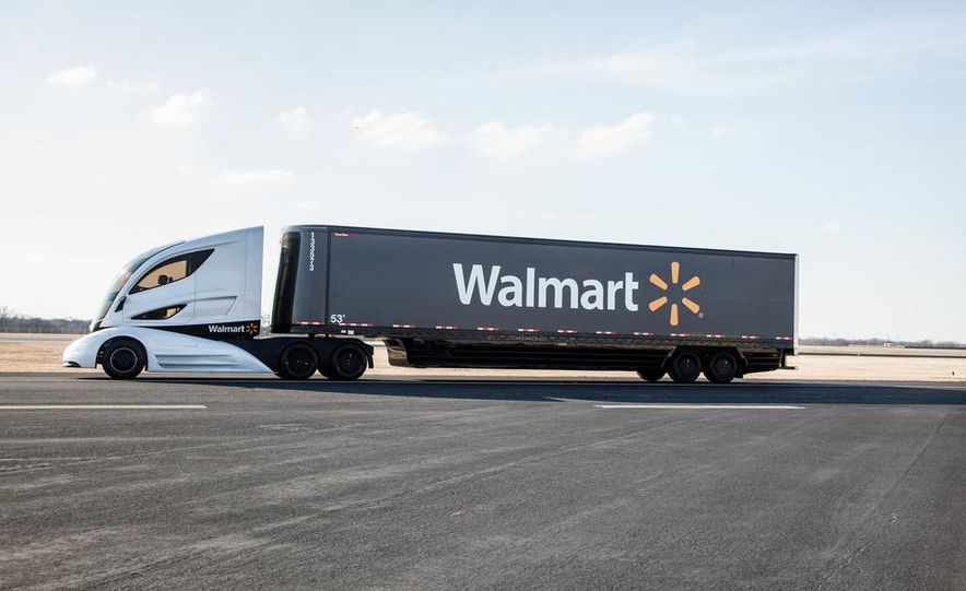 Walmart Advanced Vehicle Experience truck concept - Slide 21
