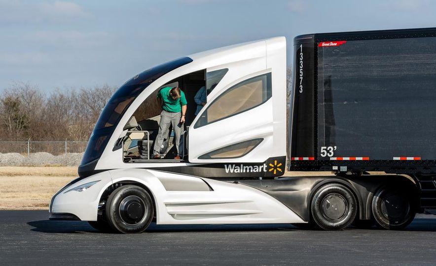 Walmart Advanced Vehicle Experience truck concept - Slide 22
