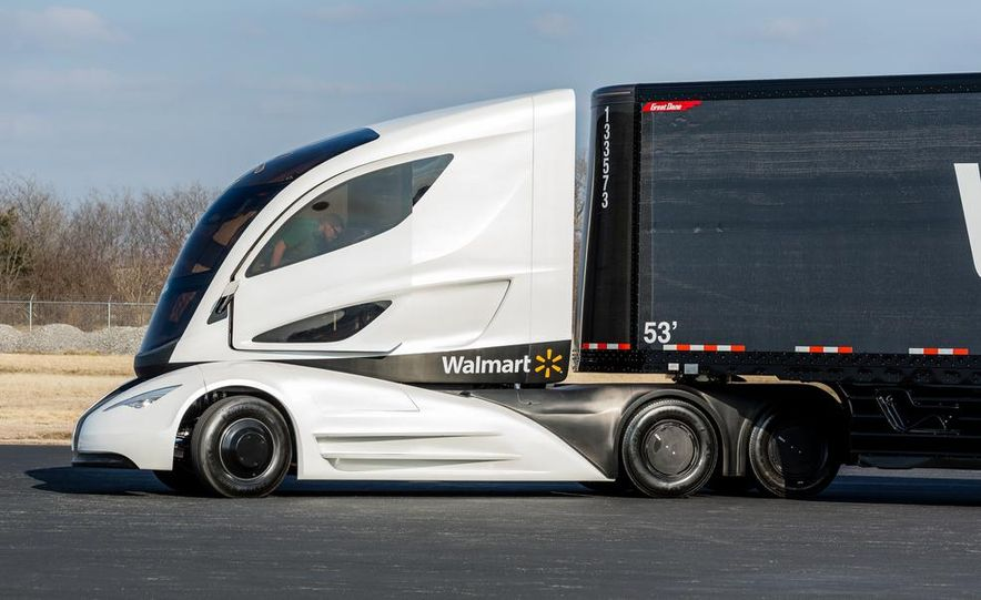 Walmart Advanced Vehicle Experience truck concept - Slide 24