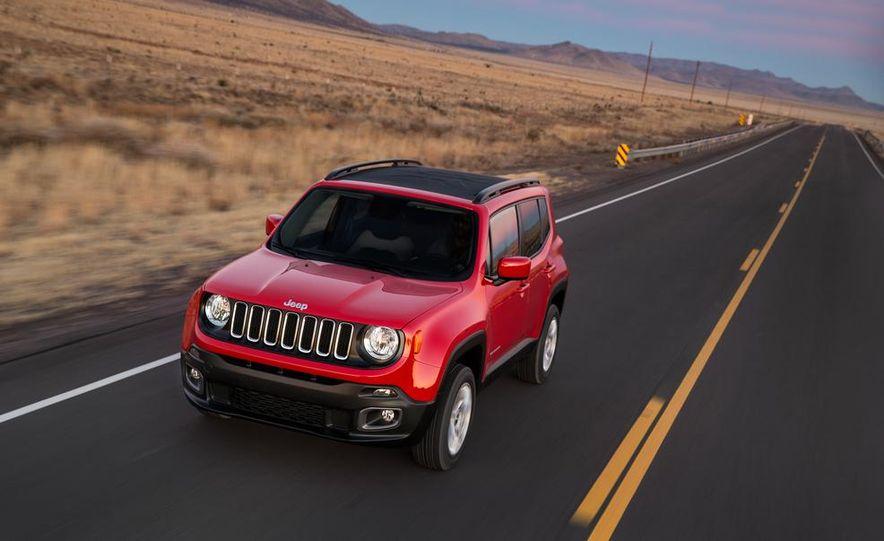 2015 Jeep Renegade Latitude - Slide 13