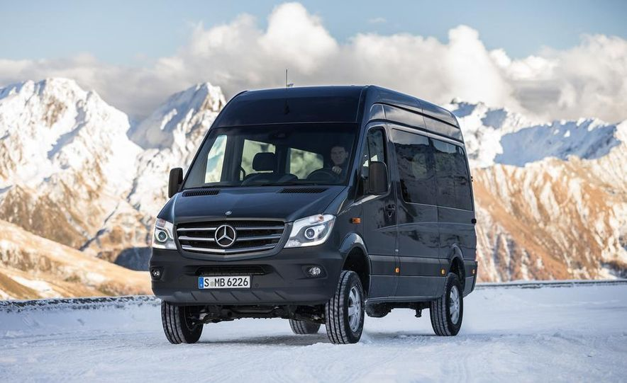 2014 Mercedes-Benz Sprinter 316 BlueTec 4x4 - Slide 2