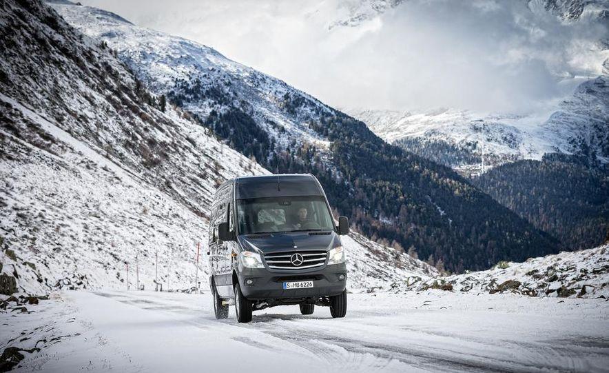 2014 Mercedes-Benz Sprinter 316 BlueTec 4x4 - Slide 6