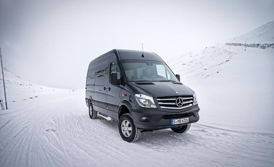2014 Mercedes-Benz Sprinter 316 BlueTec 4x4 - Slide 10