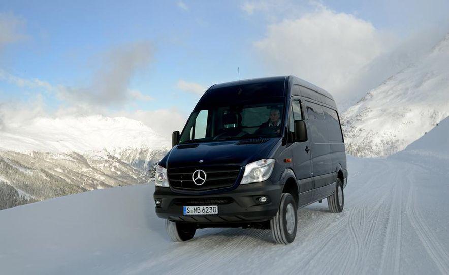 2014 Mercedes-Benz Sprinter 316 BlueTec 4x4 - Slide 23