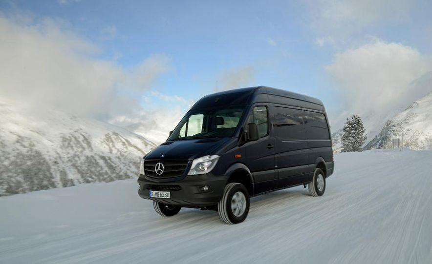 2014 Mercedes-Benz Sprinter 316 BlueTec 4x4 - Slide 24
