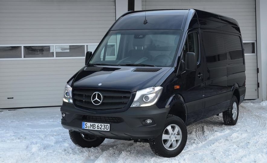 2014 Mercedes-Benz Sprinter 316 BlueTec 4x4 - Slide 31