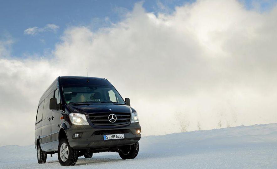 2014 Mercedes-Benz Sprinter 316 BlueTec 4x4 - Slide 33