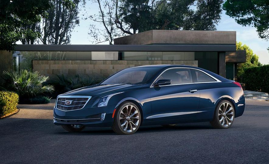 2015 Cadillac ATS coupe - Slide 9