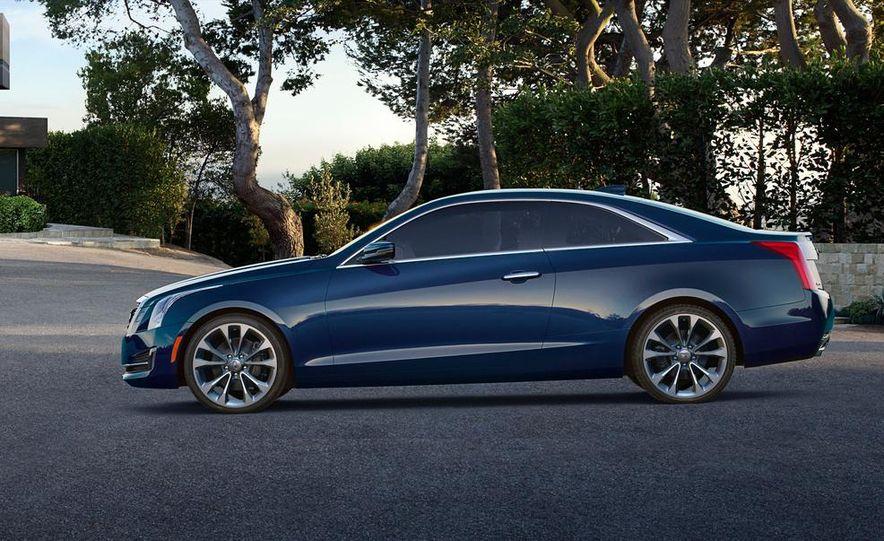 2015 Cadillac ATS coupe - Slide 10