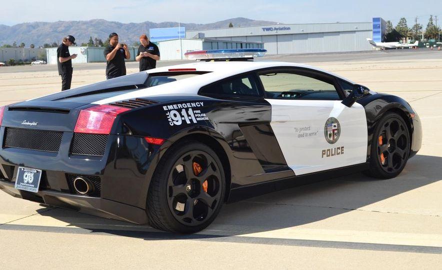 Lamborghini Gallardo police car - Slide 4