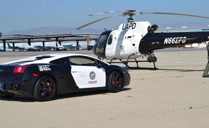 Lamborghini Gallardo police car - Slide 5