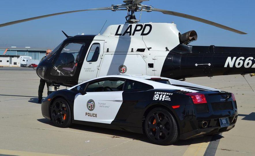 Lamborghini Gallardo police car - Slide 6