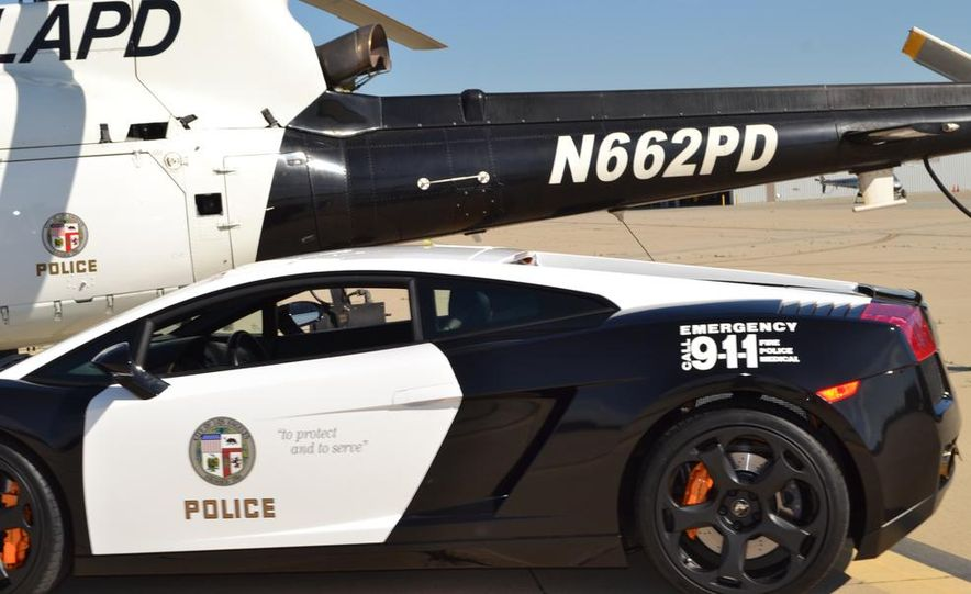 Lamborghini Gallardo police car - Slide 7