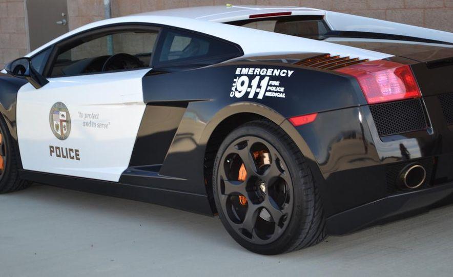 Lamborghini Gallardo police car - Slide 9
