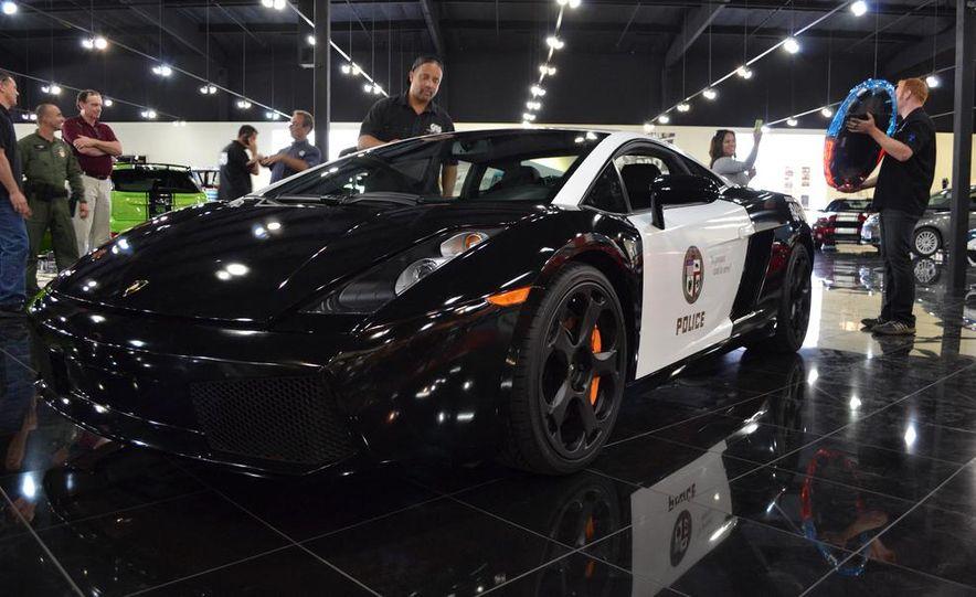 Lamborghini Gallardo police car - Slide 11