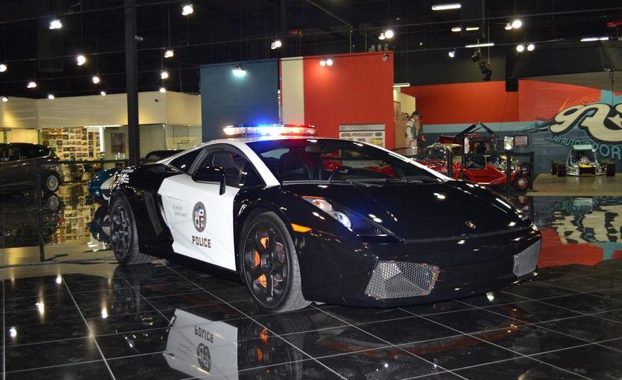 Lamborghini Gallardo police car - Slide 12