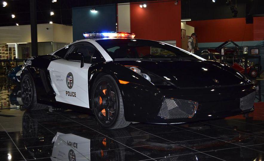 Lamborghini Gallardo police car - Slide 13