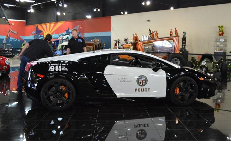 Lamborghini Gallardo police car - Slide 14