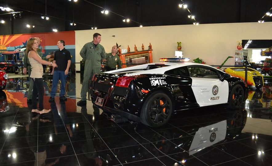Lamborghini Gallardo police car - Slide 15