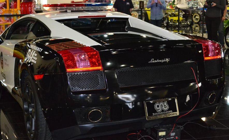 Lamborghini Gallardo police car - Slide 16