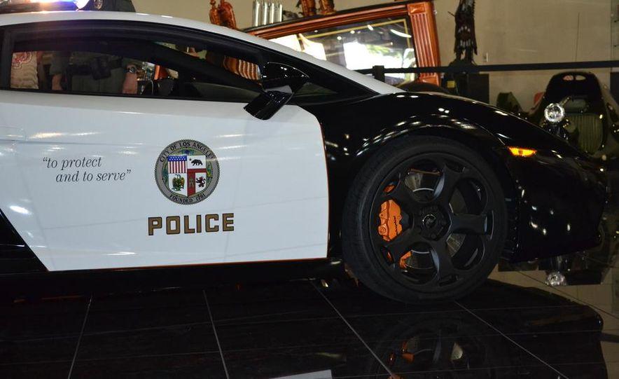 Lamborghini Gallardo police car - Slide 18