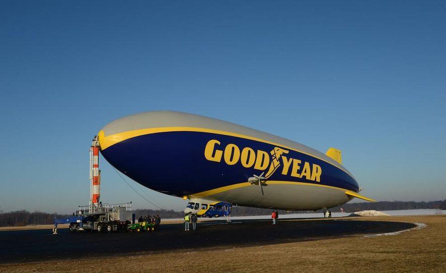 Goodyear Blimp (Zeppelin) - Slide 34