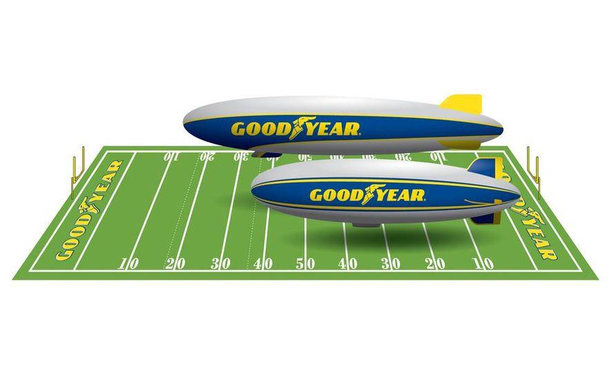Goodyear Blimp (Zeppelin) - Slide 45