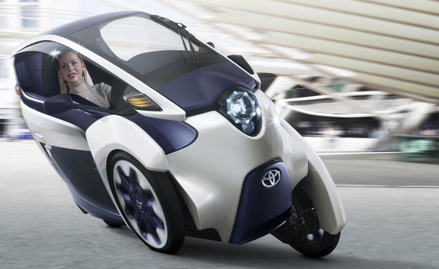Toyota i-ROAD concept - Slide 1