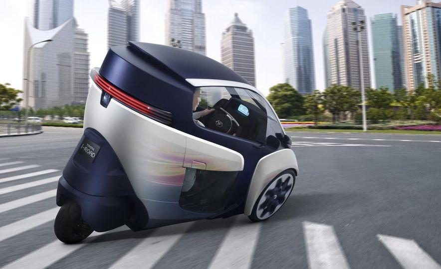 Toyota i-ROAD concept - Slide 3