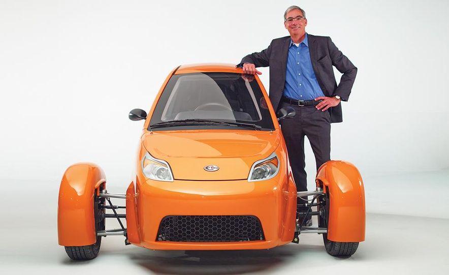 Paul Elio with the Elio Motors 3-wheeled prototype - Slide 4