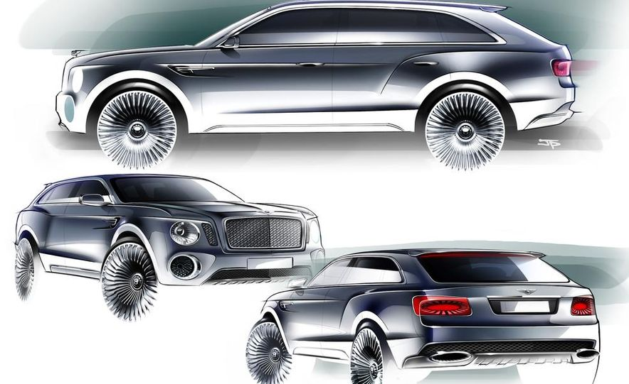Bentley EXP 9 F SUV concept - Slide 13