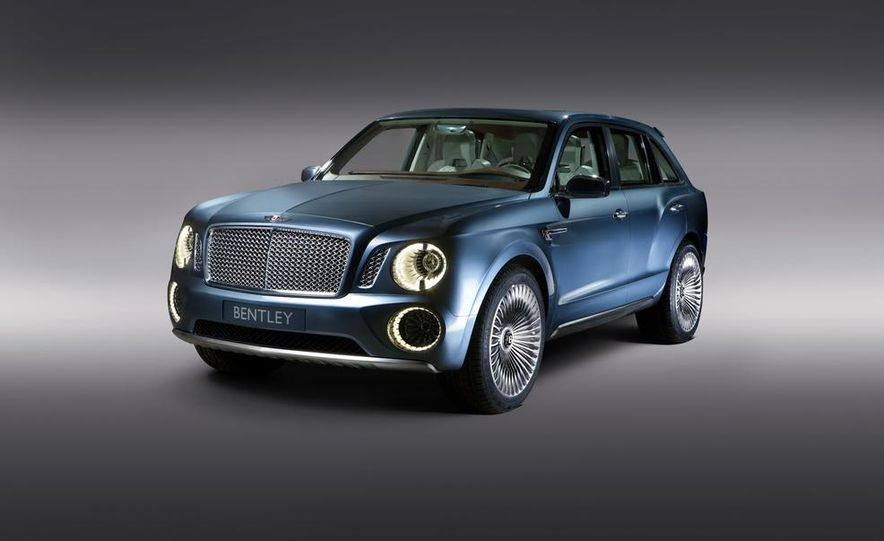 Bentley EXP 9 F SUV concept - Slide 1