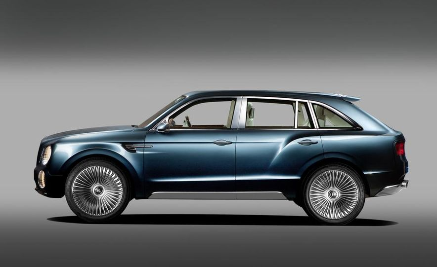 Bentley EXP 9 F SUV concept - Slide 2