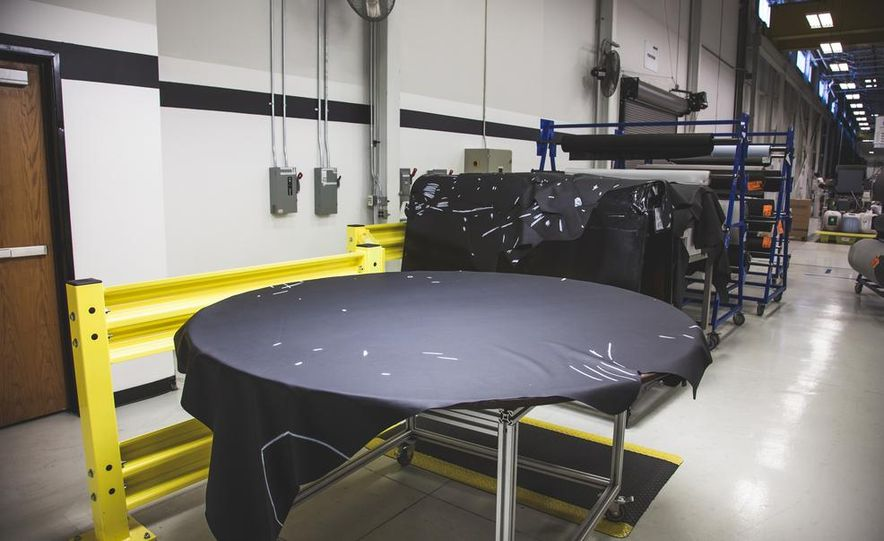 We Visit Recaro's Michigan Factory, Witness the Mighty Camaro Z/28's Seats Being Assembled - Slide 1
