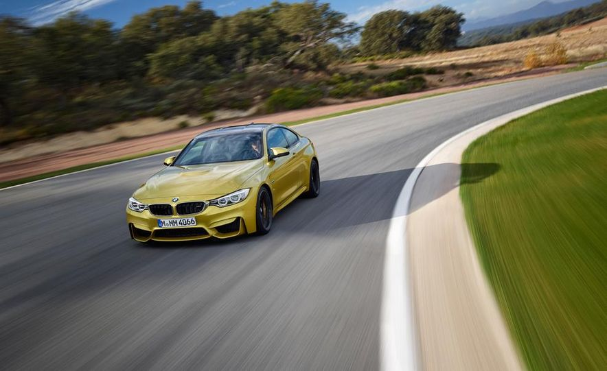 2015 BMW M4 coupe - Slide 4