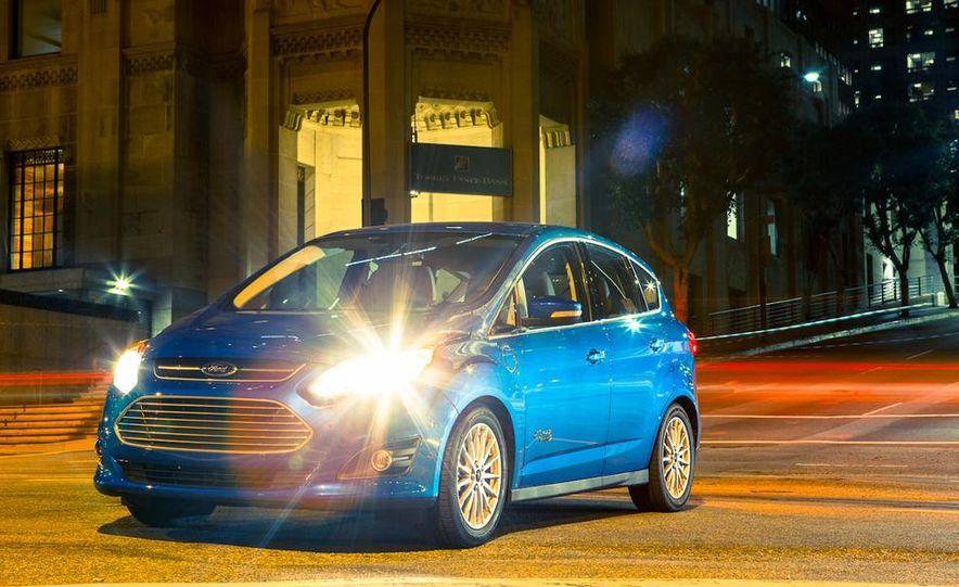 2013 Ford C-Max Energi Plug-In Hybrid - Slide 14