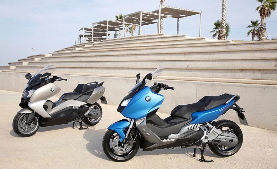 BMW C600 GT and BMW C600 Sport - Slide 1