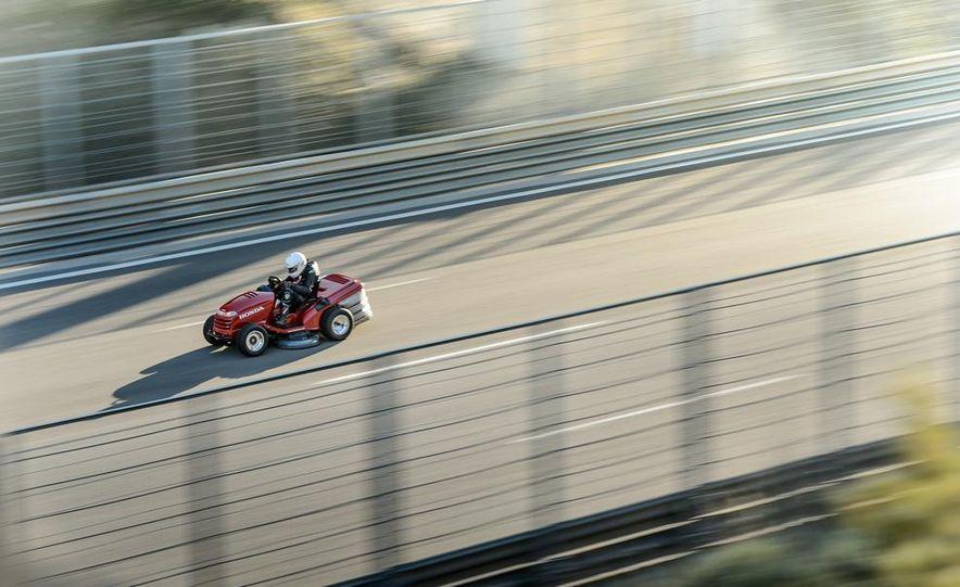 Honda Mean Mower - Slide 1