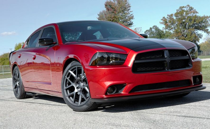 2014 Dodge Challenger R/T with Scat package and 2014 Dodge Charger R/T with Scat package - Slide 3