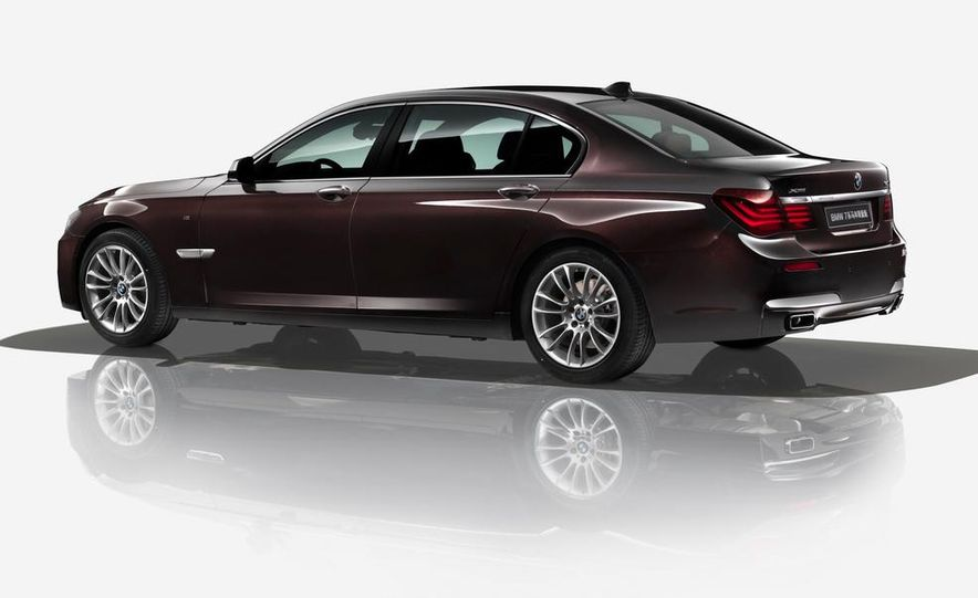 BMW 7-series Horse edition - Slide 1
