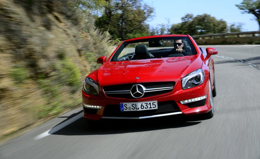 2013 Mercedes-Benz SL63 AMG - Slide 2