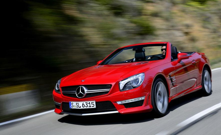 2013 Mercedes-Benz SL63 AMG - Slide 1