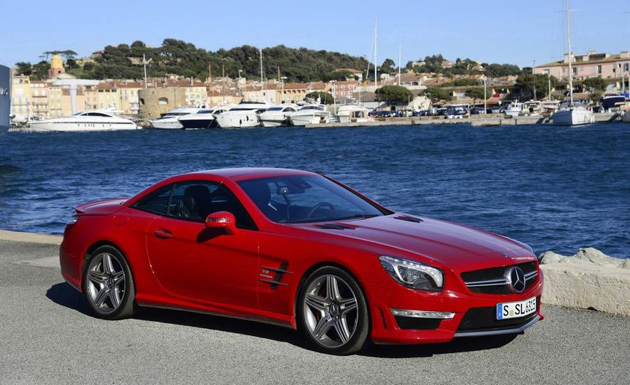 2013 Mercedes-Benz SL63 AMG - Slide 6